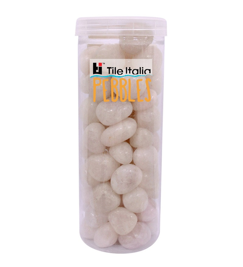 Rose Quartz 1kg Pebbles by Tile Italia Pebbles