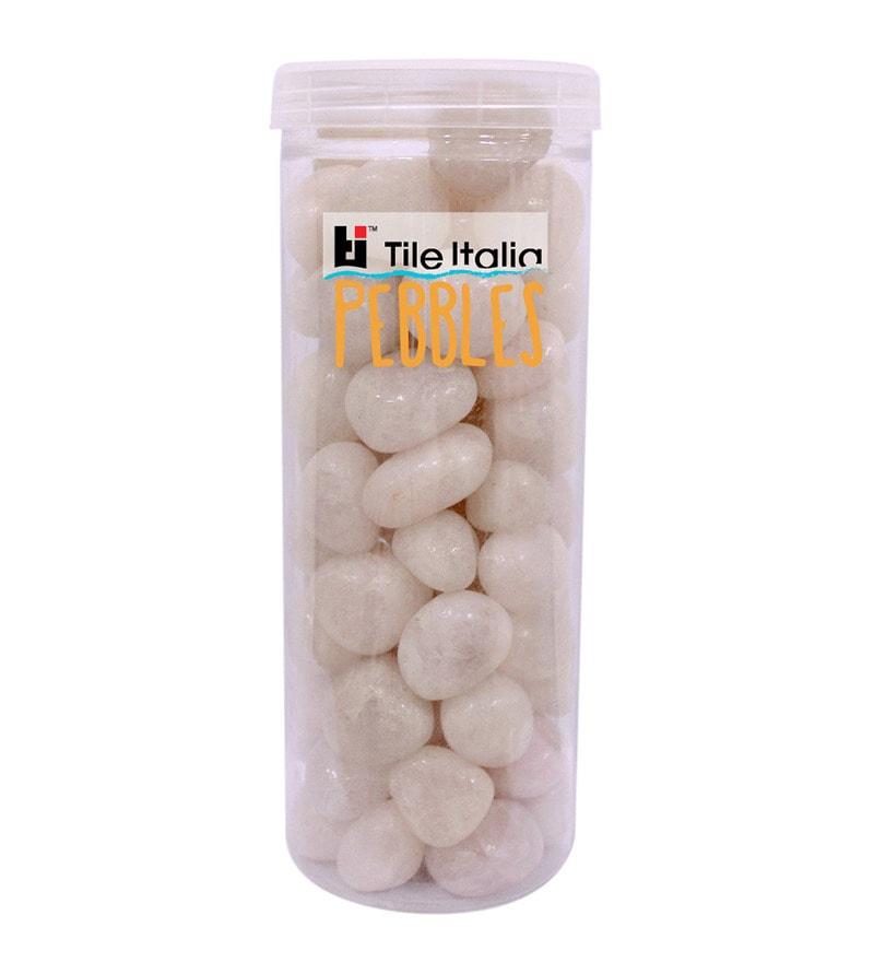 Rose Quartz 1kg Pebbles by Tile Italia Pebbles