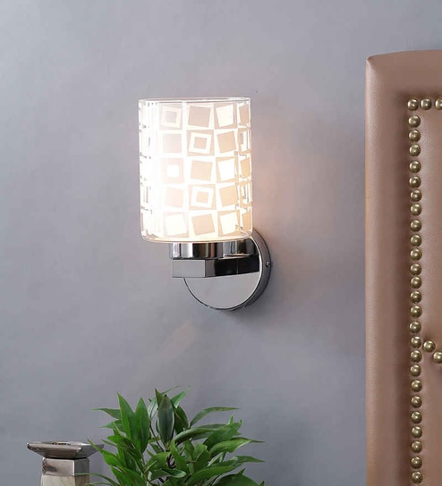 Buy kapoor e illuminations white glass wall light online upward kapoor e illuminations white glass wall light aloadofball Gallery