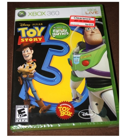 Toy story 3 xbox game cheats