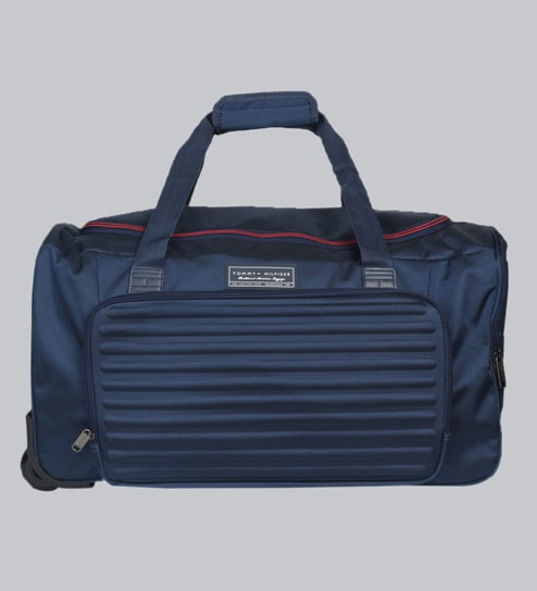6e63959e Buy Tommy Hilfiger East Boston Polyester Navy Blue Duffle,38 Litres ...