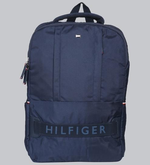 3e1ecf17 Buy Tommy Hilfiger Polyester Blue Backpack,21 Litres Online ...
