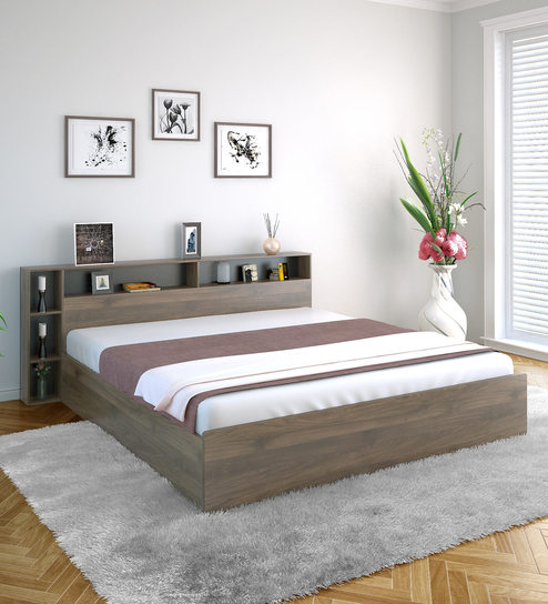 Wondrous Torrie Queen Size Bed With Headboard Box Storage By Home Home Interior And Landscaping Mentranervesignezvosmurscom