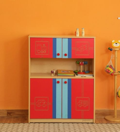 Buy Tour The World Cupboard in Multicolour by Popcorn Online - Kids Cupboard on kitchen cabinet, hoosier cabinet, chest of drawers,