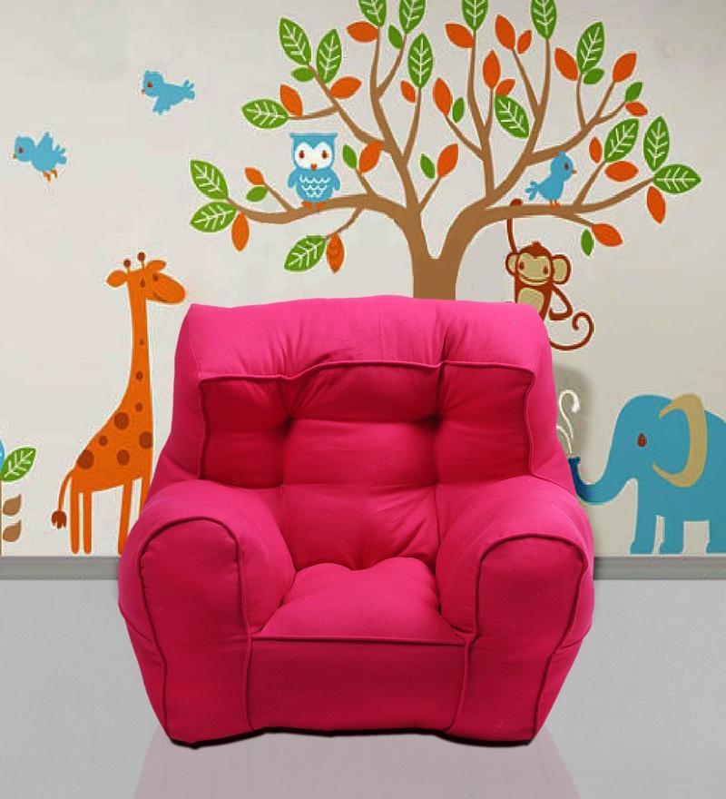 Toddler Organic Kids' Sofa in Pink by Reme