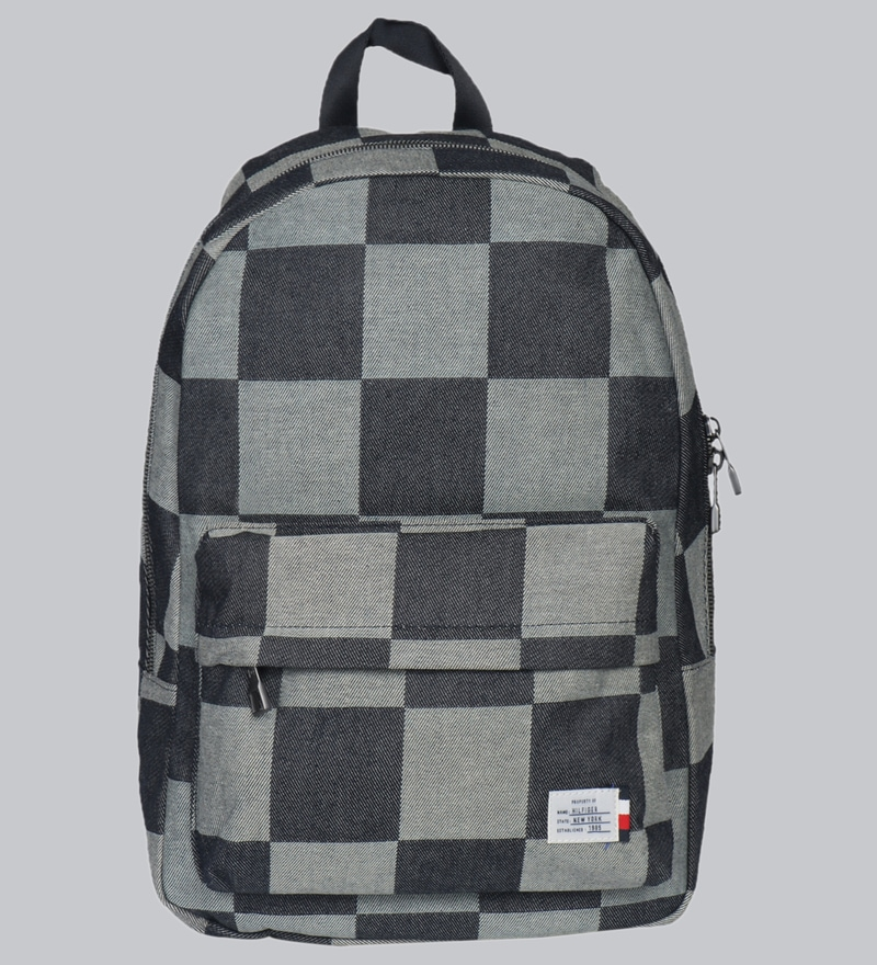 dfdc2fd88fa Buy Tommy Hilfiger Denim Polyester Grey Backpack,21 Litres Online ...
