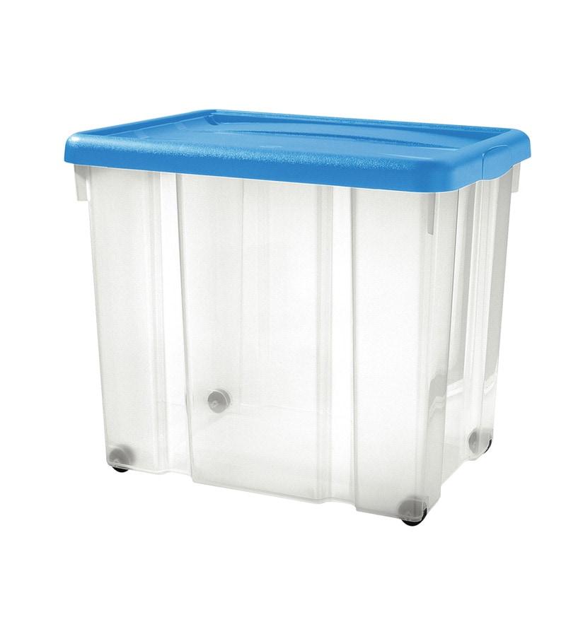 Buy Tontarelli Puzzle Storage Box With Lid & Wheels-60 ...