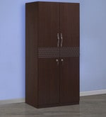 Triumph Two Door Wardrobe in Dark Walnut Colour