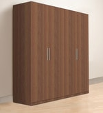 Troy Four Door Wardrobe in Asian Maldau Acacia Dark Finish