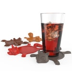 True Zoo Smashed Animal Coasters