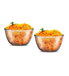 Treo New Gereration Glass Microwave Safe Mixing Bowls - Set Of 2 - 1662577