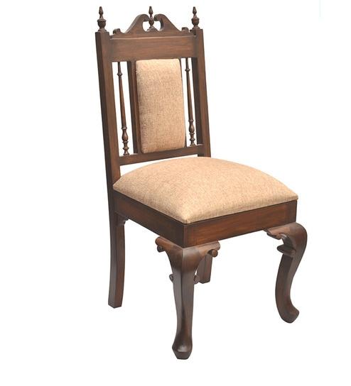 Buy Traditional Teak Wood Chair By Vareesha Online Indian Ethnic
