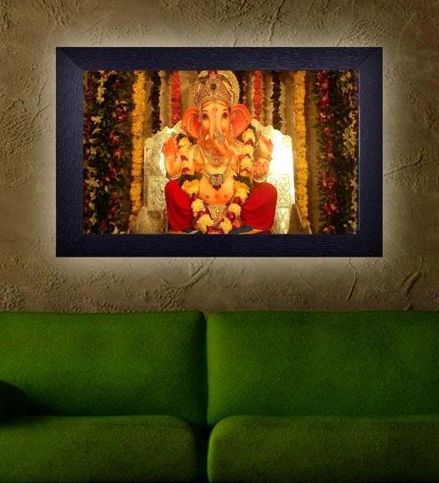 Buy Translight Paper 15 x 0.5 x 10 Inch Decorative Lord Ganesha Led ...