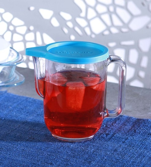 Buy Transparent And Blue Frigoverre Round L Jug By Bormioli Rocco - Invoice maker free download rocco online store