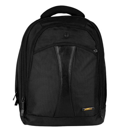 Buy Travel Blue Nylon   Polyester Black Laptop Backpack c283c12e38efe