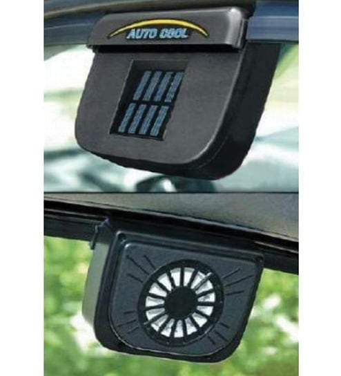 Travel Solar Powered Auto Cool Ventilation Fan By