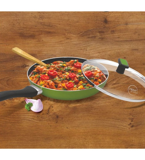 Excellent Treo By Milton La Culinaire Granito Fry Pan With Glass Lid Onthecornerstone Fun Painted Chair Ideas Images Onthecornerstoneorg