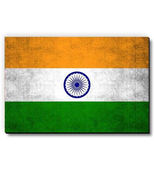3b0e667ec6 Buy MDF Indian Flag Fridge Magnet by Seven Rays Online - Abstract Fridge  Magnets - Curios & Showpieces - Curios & Showpieces - Pepperfry Product