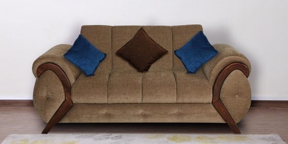 Trendy Two Seater Sofa In Cappuccino Colour By Muebles Casa