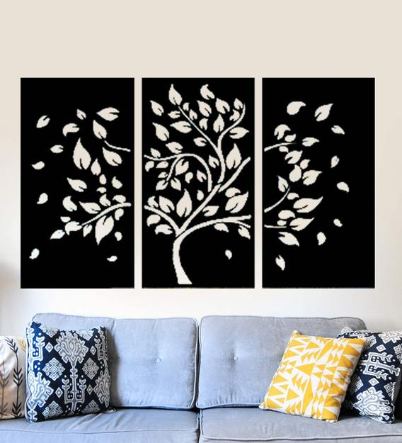 Buy Tree Of Life 3 Panel Wall Art By Wall Centre Online