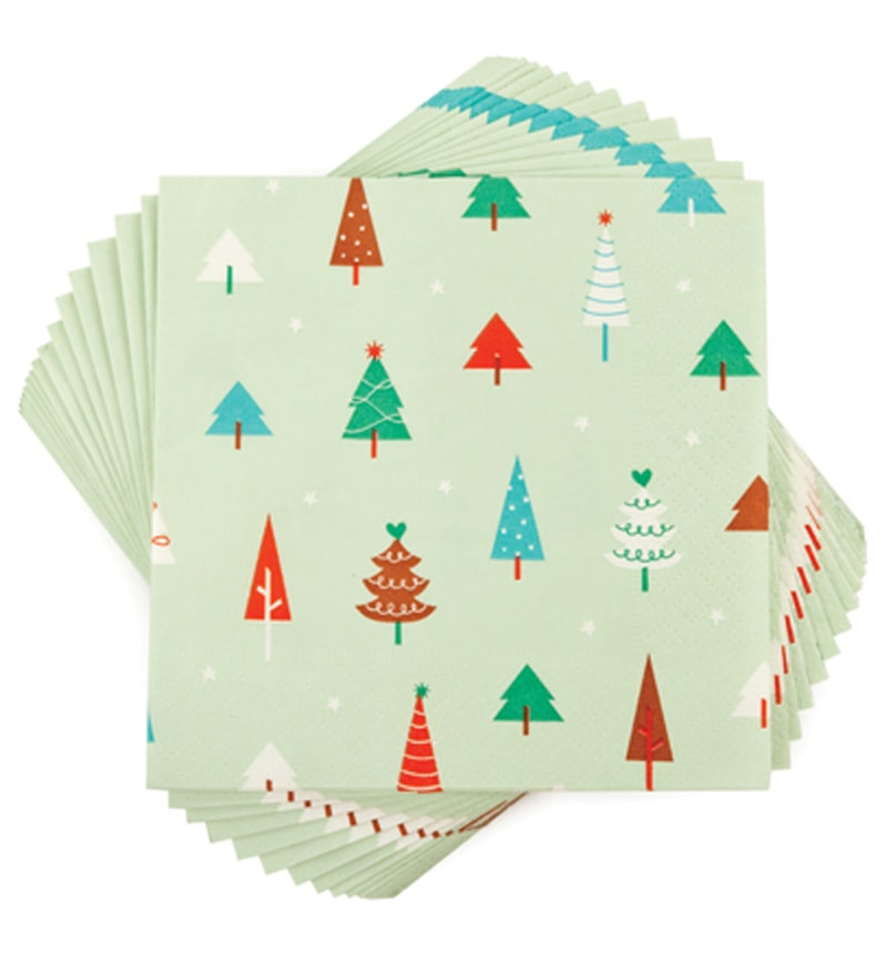 True Merry Trees Napkins - Set of 20