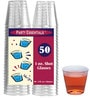 True Plastic 30 ML Shot Glasses - Set of 50