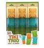 True Zoo Tiki Trio Stacking Shot Glasses -Set of 3