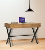 Turin Study & Laptop Table in Natural Finish