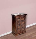 Tuskar Solidwood Cabinet in Walnut Finish