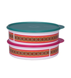 Tupperware Store & Serve Air Tight Spill Proof Containers - Set Of 2