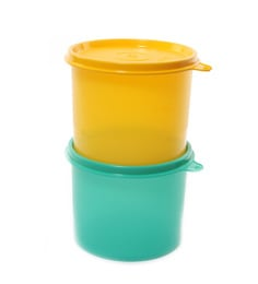 Tupperware Store All Small - Set Of 2 Canisters
