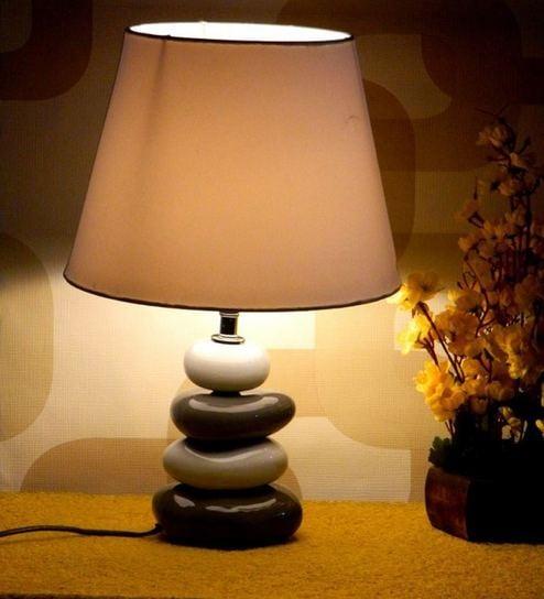 Tucasa Multi Coloured Table Lamp By Tu Casa Online Elegant Lamps