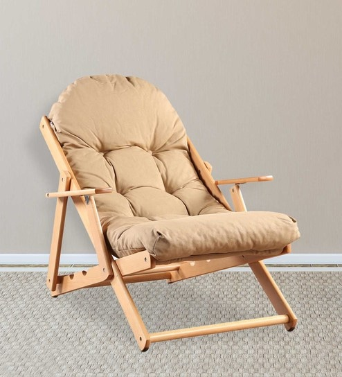 Merveilleux Tulip Folding Chair In Beige Finish By HomeTown