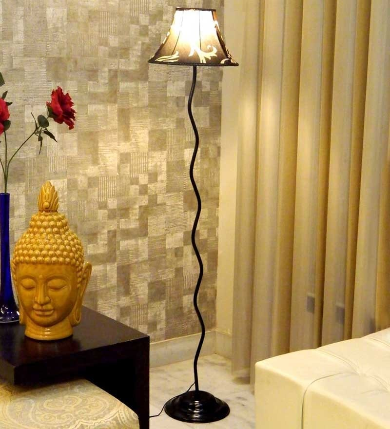 Ethnic print Floor Lamp by Tu Casa