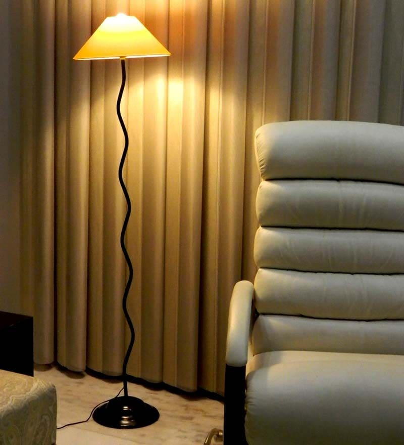 Yellow Floor Lamp by Tu Casa