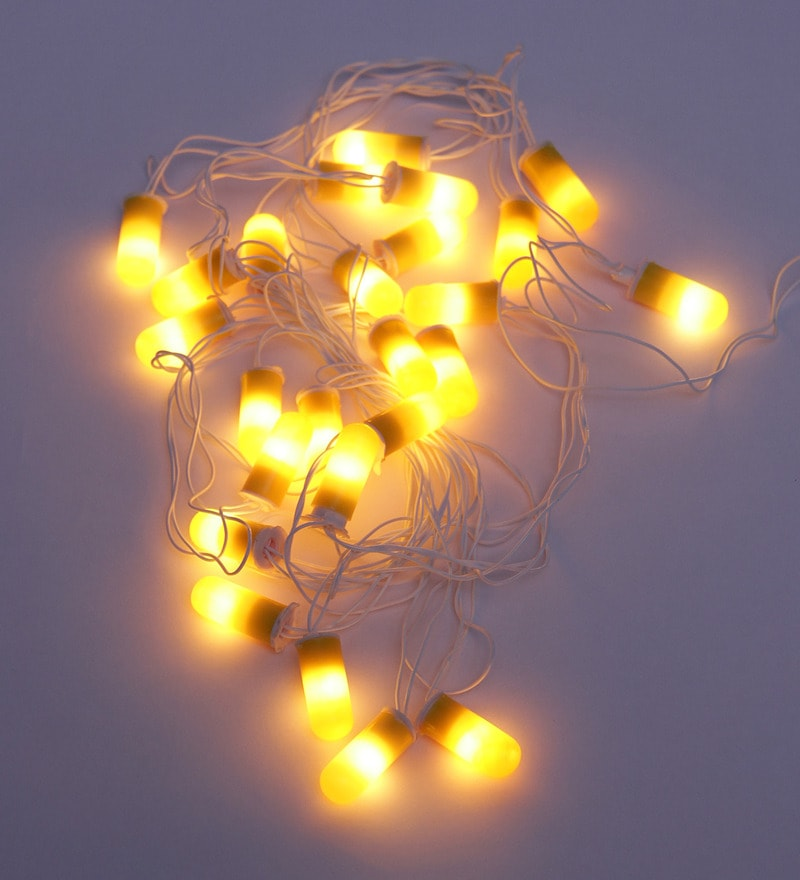 Capsule Yellow String Light by Tu Casa