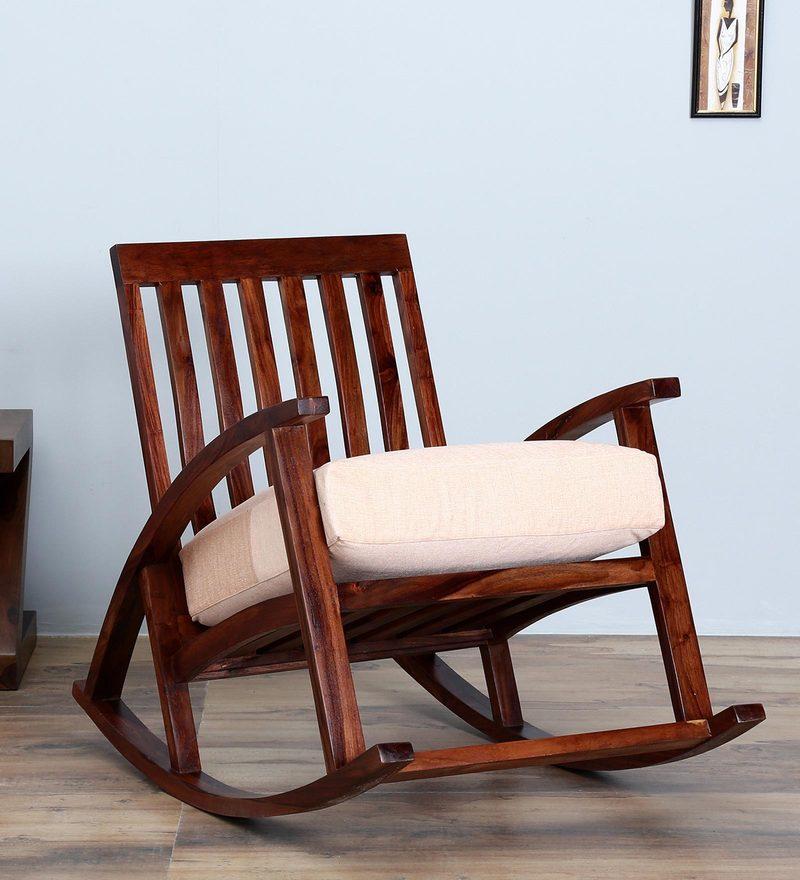 tukwila rocking chair in warm walnut finish - Rocking Chair