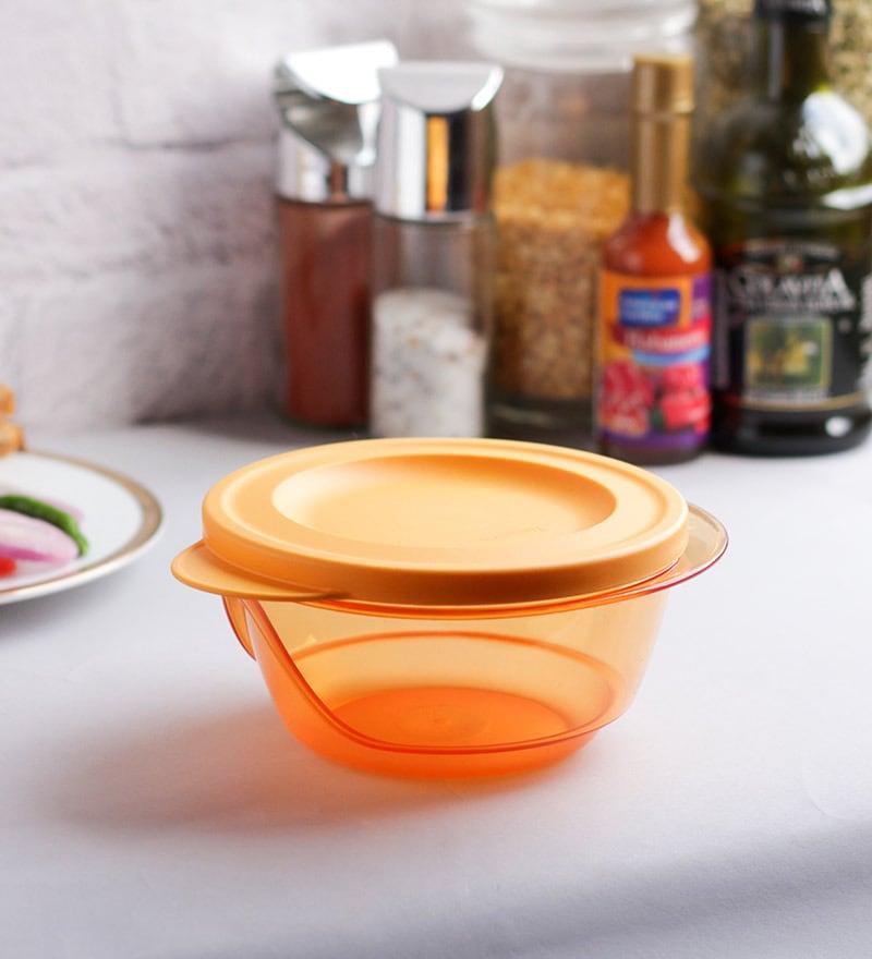 Tupperware Orange Style Diva Bowl 450 ml - set of 4