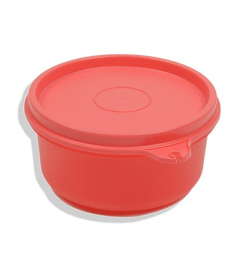 Tupperware Tropical Red Plastic 250 ML Cup - Set of 6