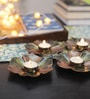 Tu Casa Bronze Wax Candle Holder - Set of 4
