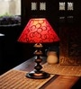 Red Metal Table Lamp by The Light House