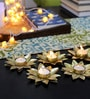 Tu Casa Golden Wax Candle Holder - Set of 6