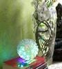 Tu Casa Flower Blue & Green  Pendant