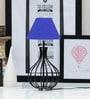 Navy Blue Poly Cotton Lamp Shade by Tu Casa