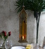 Tu Casa Yellow Classic Candle Holder With LED Candle Holder