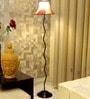 Multicolour Poly Cotton Floor Lamp by Tu Casa