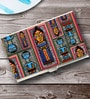 Tungs10 Folk Expression Popular Art Stainless Steel Card Holder