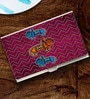 Tungs10 Folk Expression Tale of Mahavats Stainless Steel Multicolour Card Holder