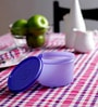 Tupperware Purple Executive Lunch Bowl 450 ML- Set of 4