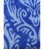Blue 100% Cotton 28 x 58 Bath Towel by Turkish Bath